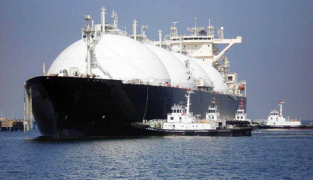 самый большой в мире СПГ-танкер. Худун Чжунхуа